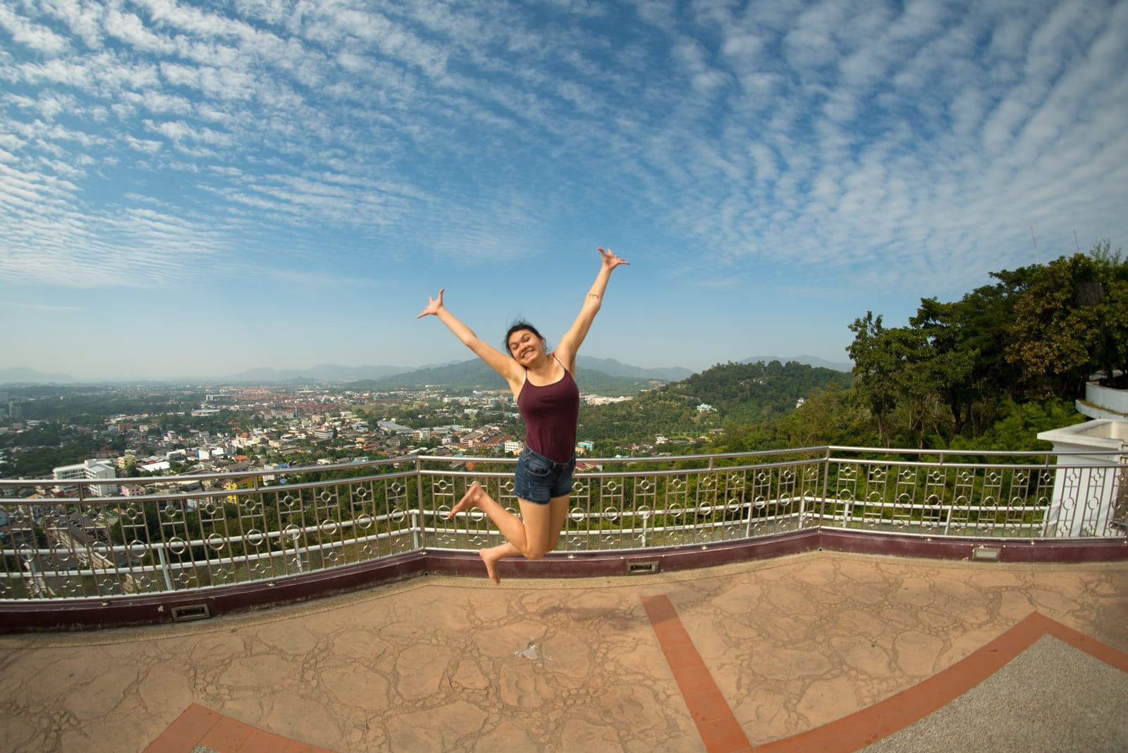 Jana am Rang Hill Viewpoint in Phuket