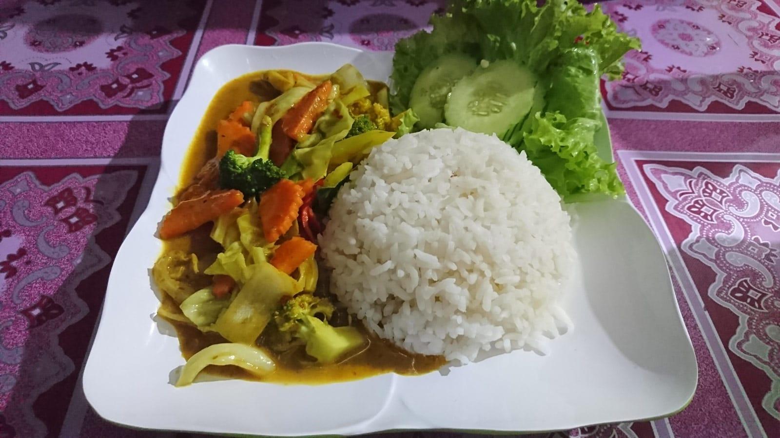 Essen in der Straßenküche