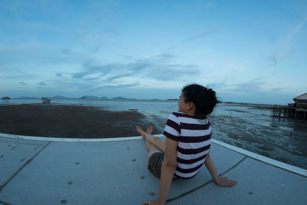 Tolle Aussicht im Sriraya Guesthouse