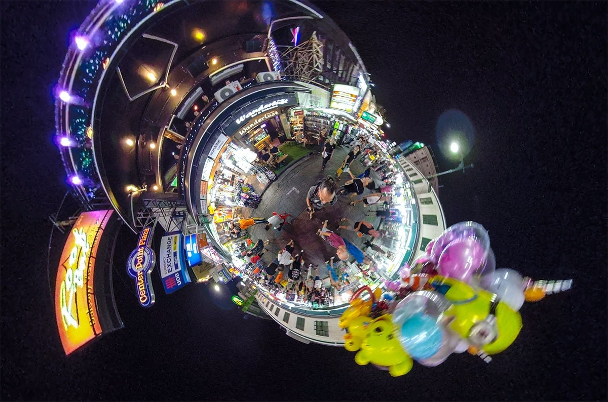 Lost In Bangkok Khao San Road Little Planet Image Credit: Alf Drollinger / Catch Life