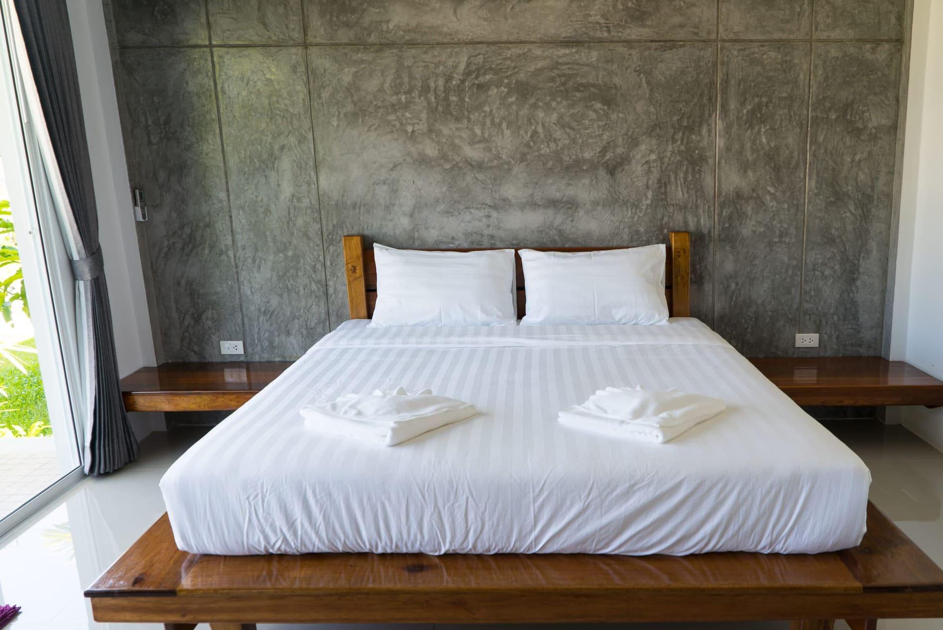 Schlafzimmer im Baan Rom Pruk