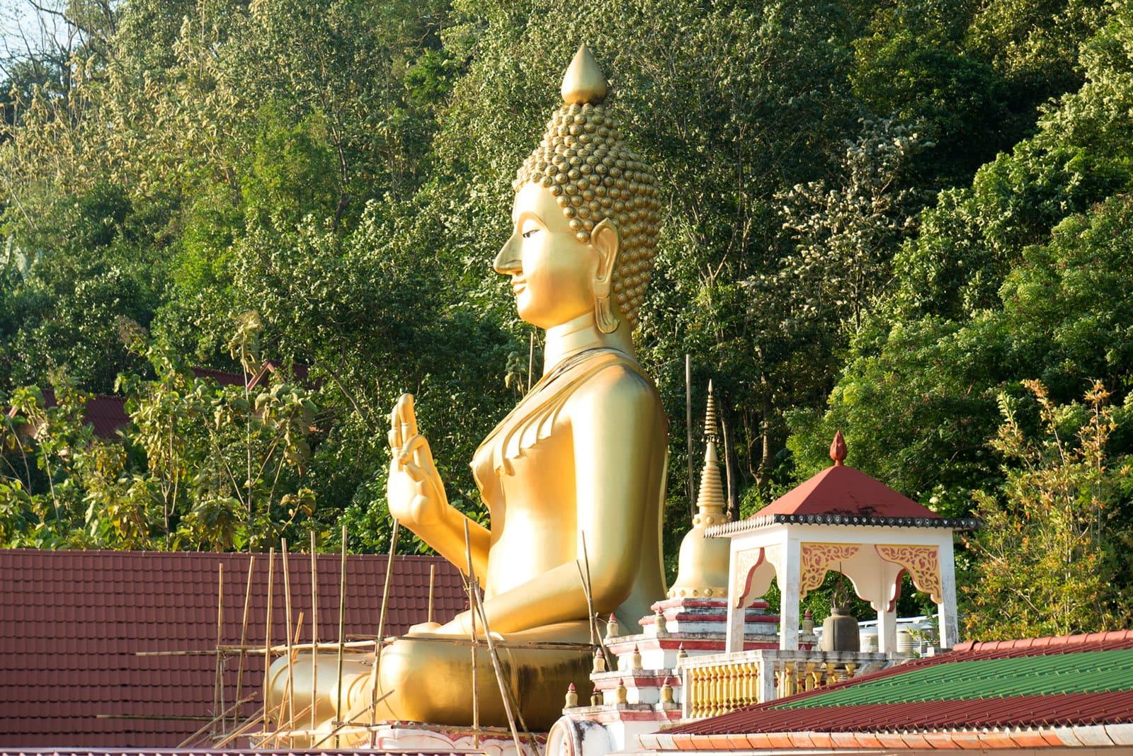 Big Buddha von Wat Khao Rang Samakkhitham