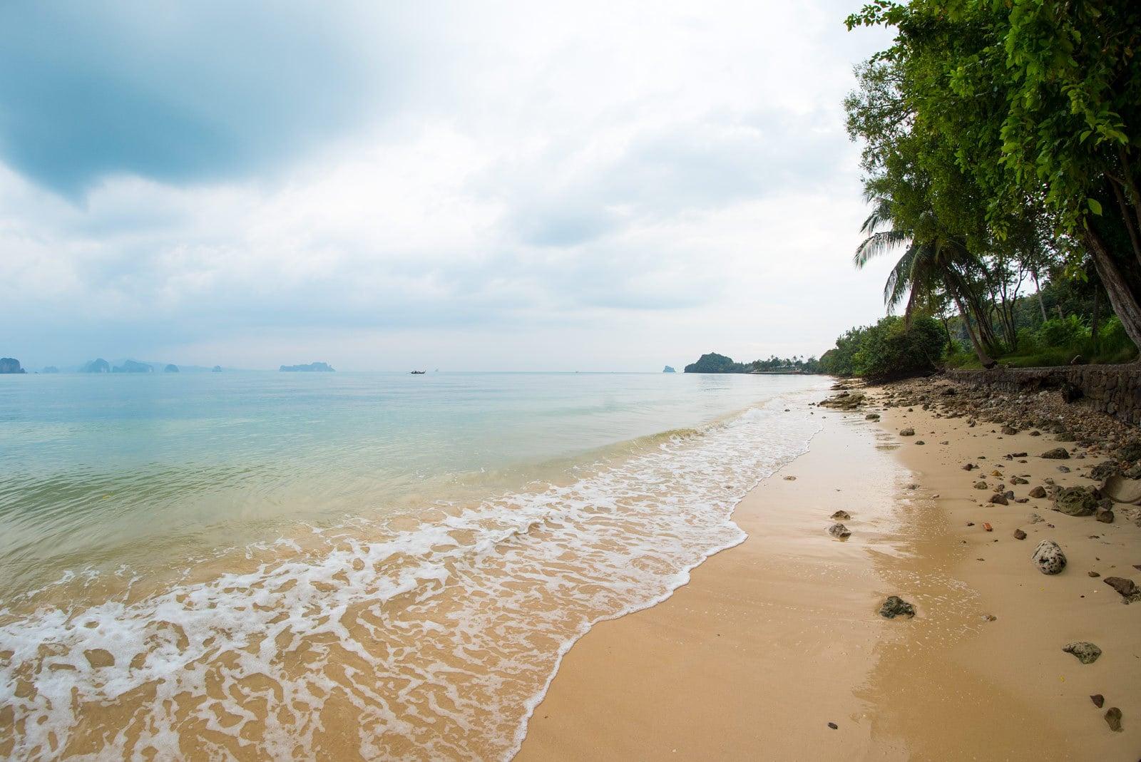 Einsamer Strand in Ko Yao Noi