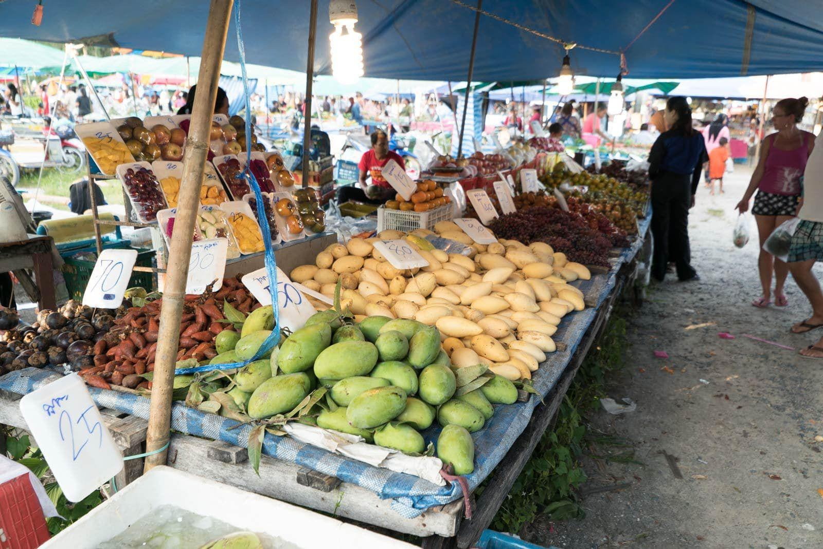 Fruits at Naiyang Beach Market