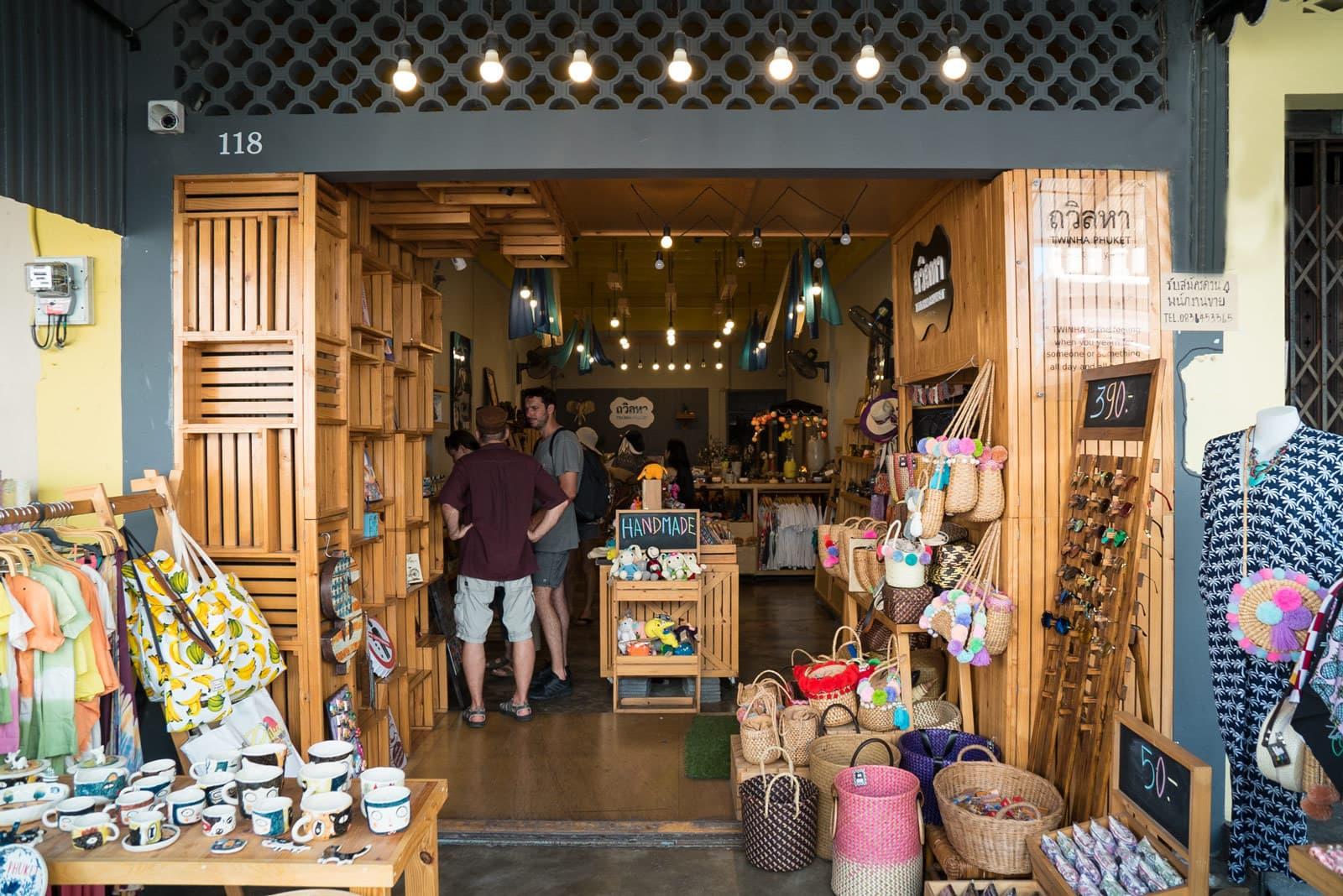 Phuket Old Town Shop