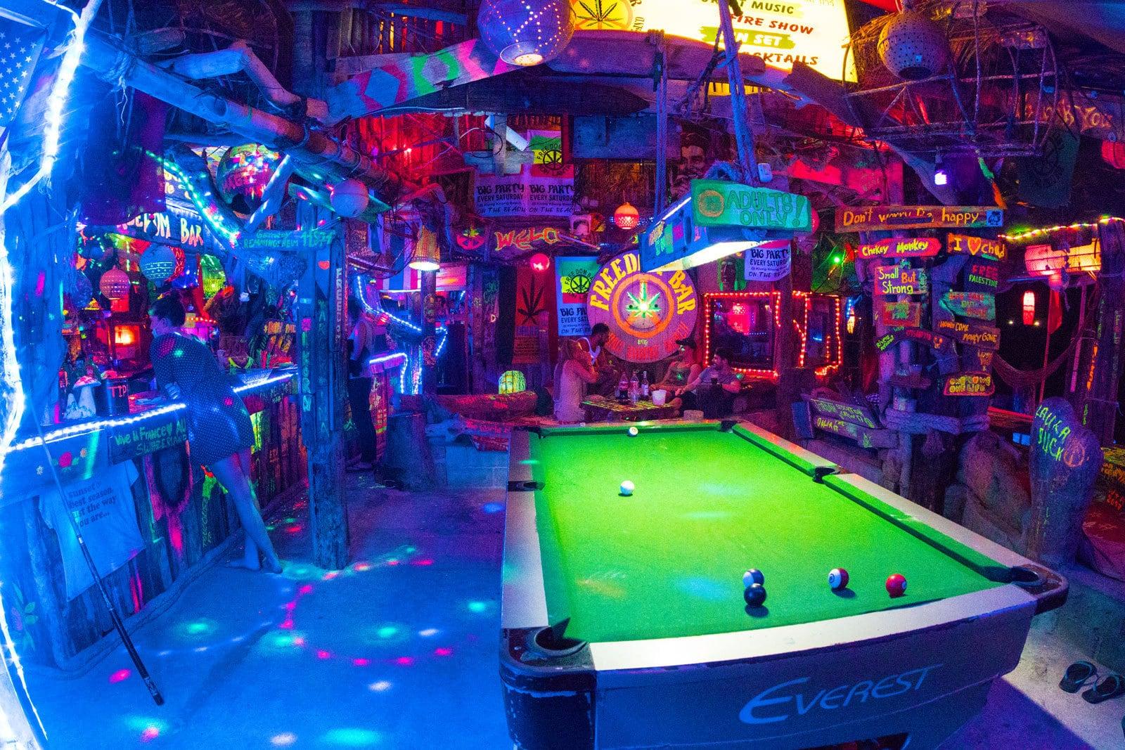 Freedom Bar in Koh Lanta