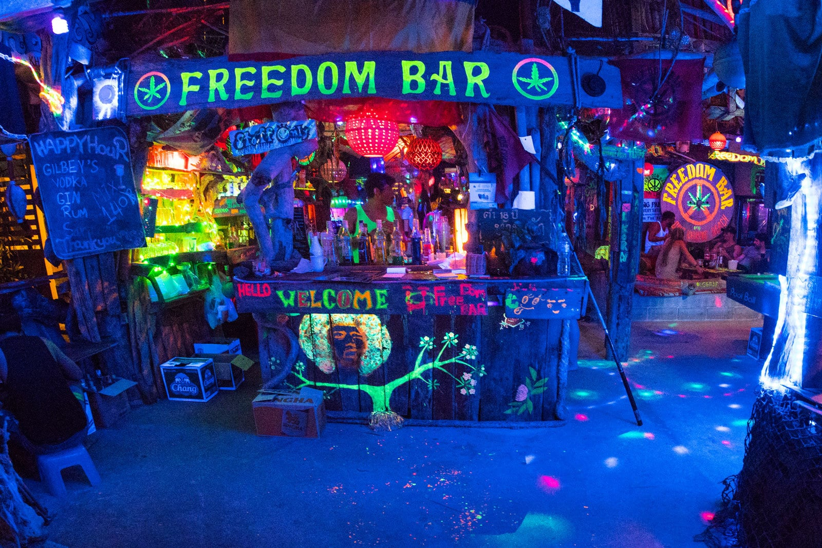Freedom Bar in Koh Lanta