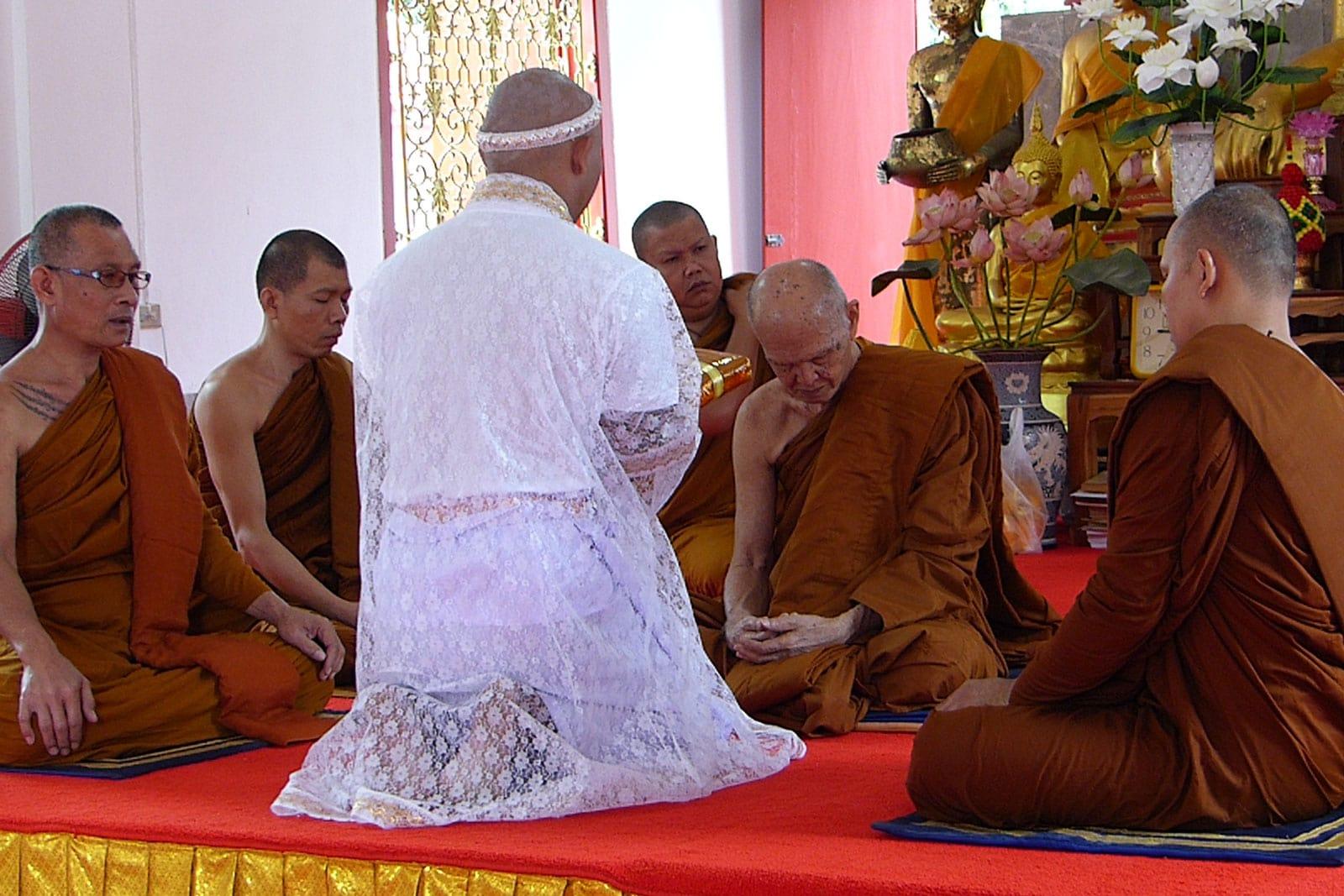 Ben mit den Mönchen