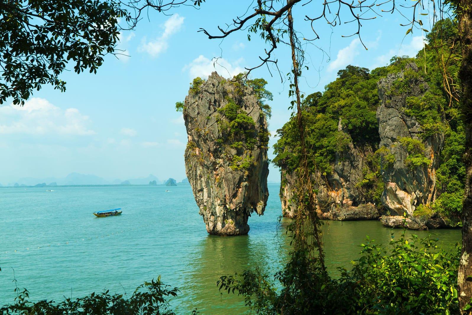 James Bond Island, Phangnga Bay in Thailand Südostasien