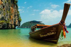 Sayan Longtail Boat Phangna Bay Tour Thailand