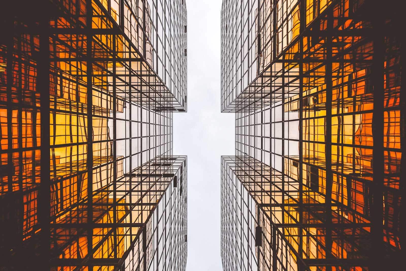 Architektur Wolkenkratzer Utopie Utopia Planet