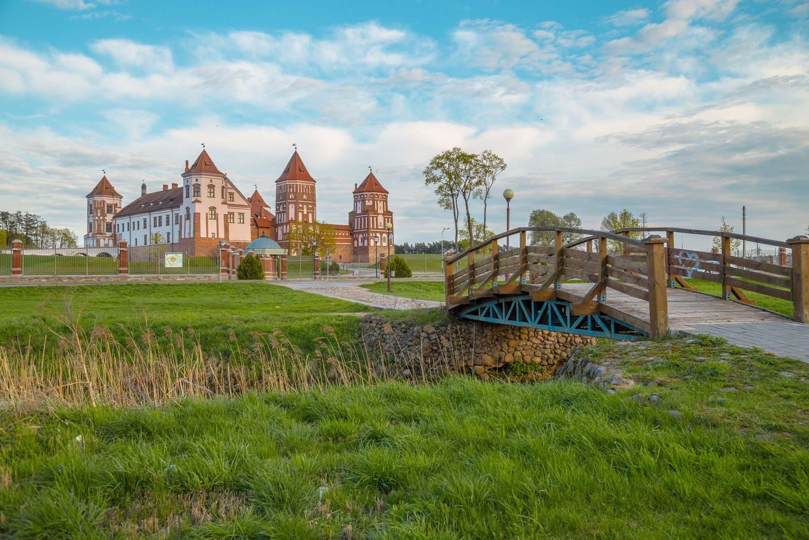 Belarus Weissrussland Castle Mir