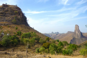 Berg Rumsiki Kamerun Zentralafrika