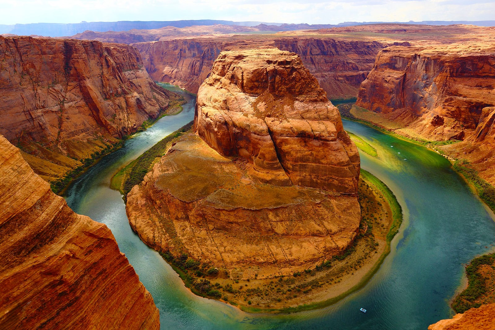 Colorado River Canyon Amerika