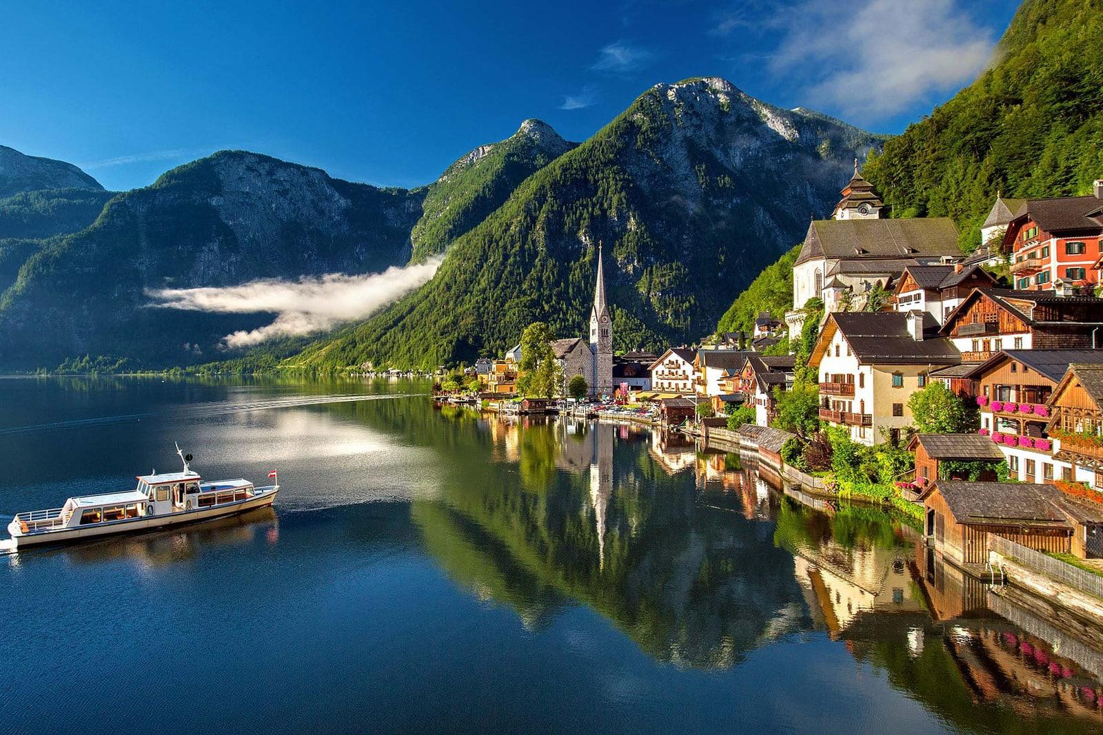 Hallstatt Österreich Zentraleuropa