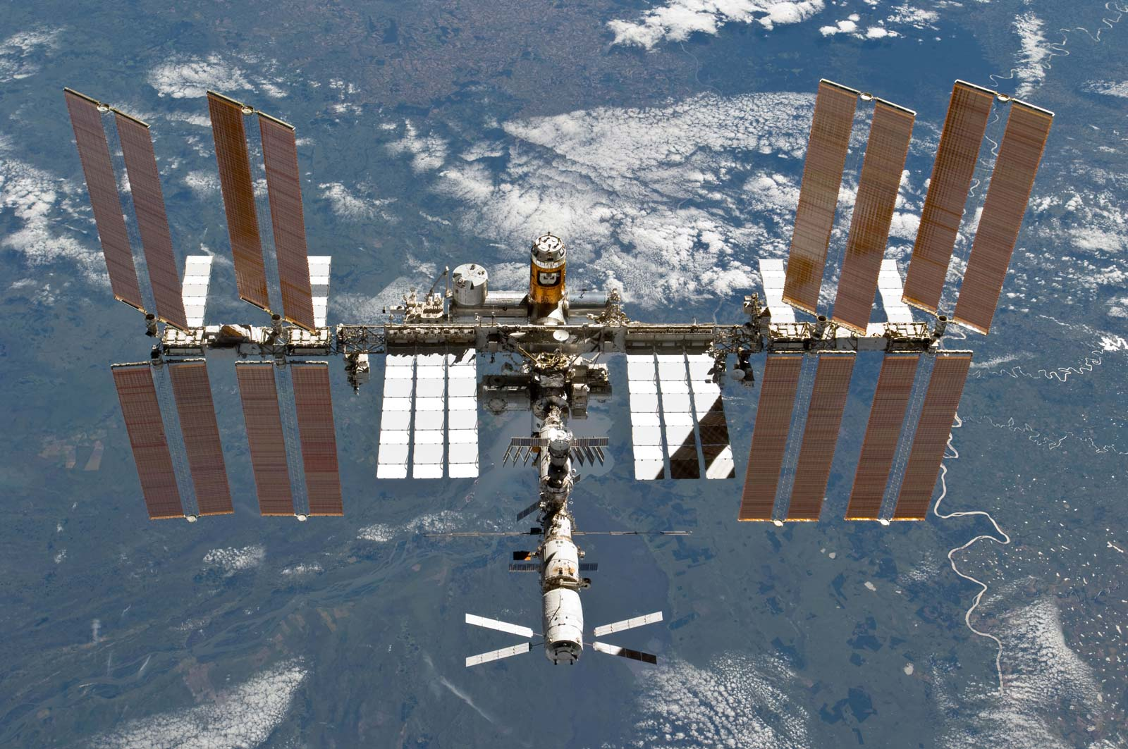 ISS International Space Station After Undocking Nasa