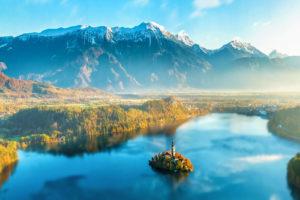 Insel Bled Slowenien