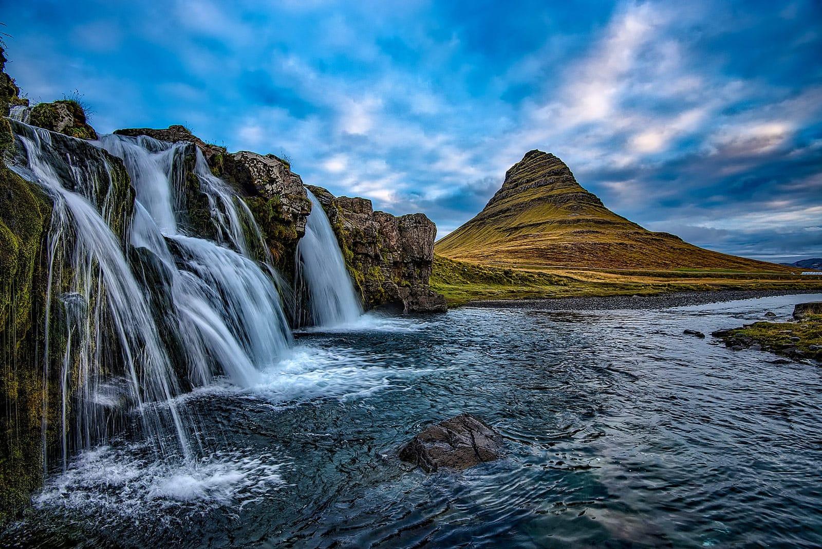 Kirkjufell Island