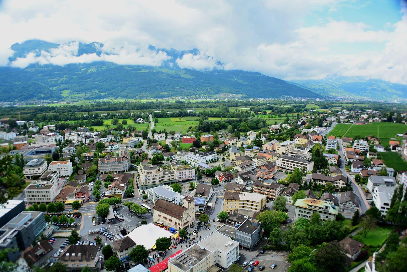 Liechtenstein Zentraleuropa