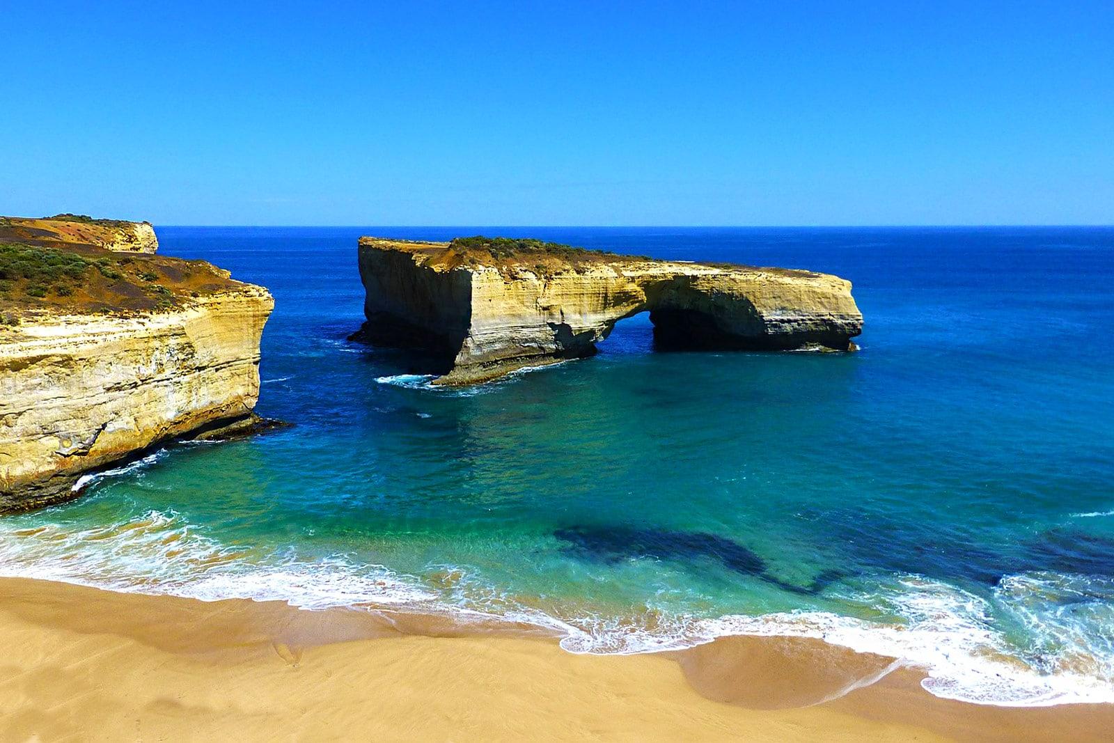 London Bogen Grosse Ozeanstrasse Australien