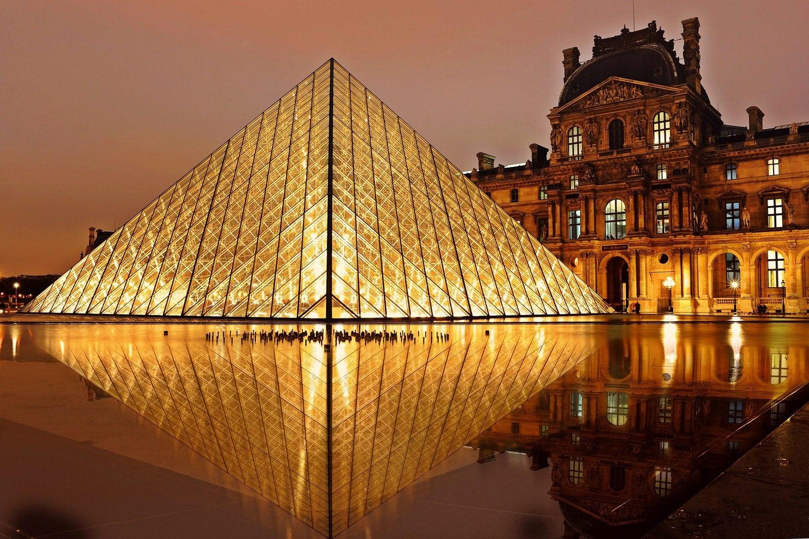 Louvre Paris Frankreich