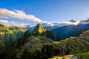 Machu Picchu Inka Stadt Peru