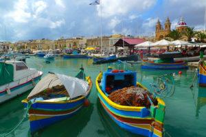 Marsaxlokk Malta Suedeuropa