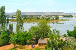 Fluss Niger Westafrika