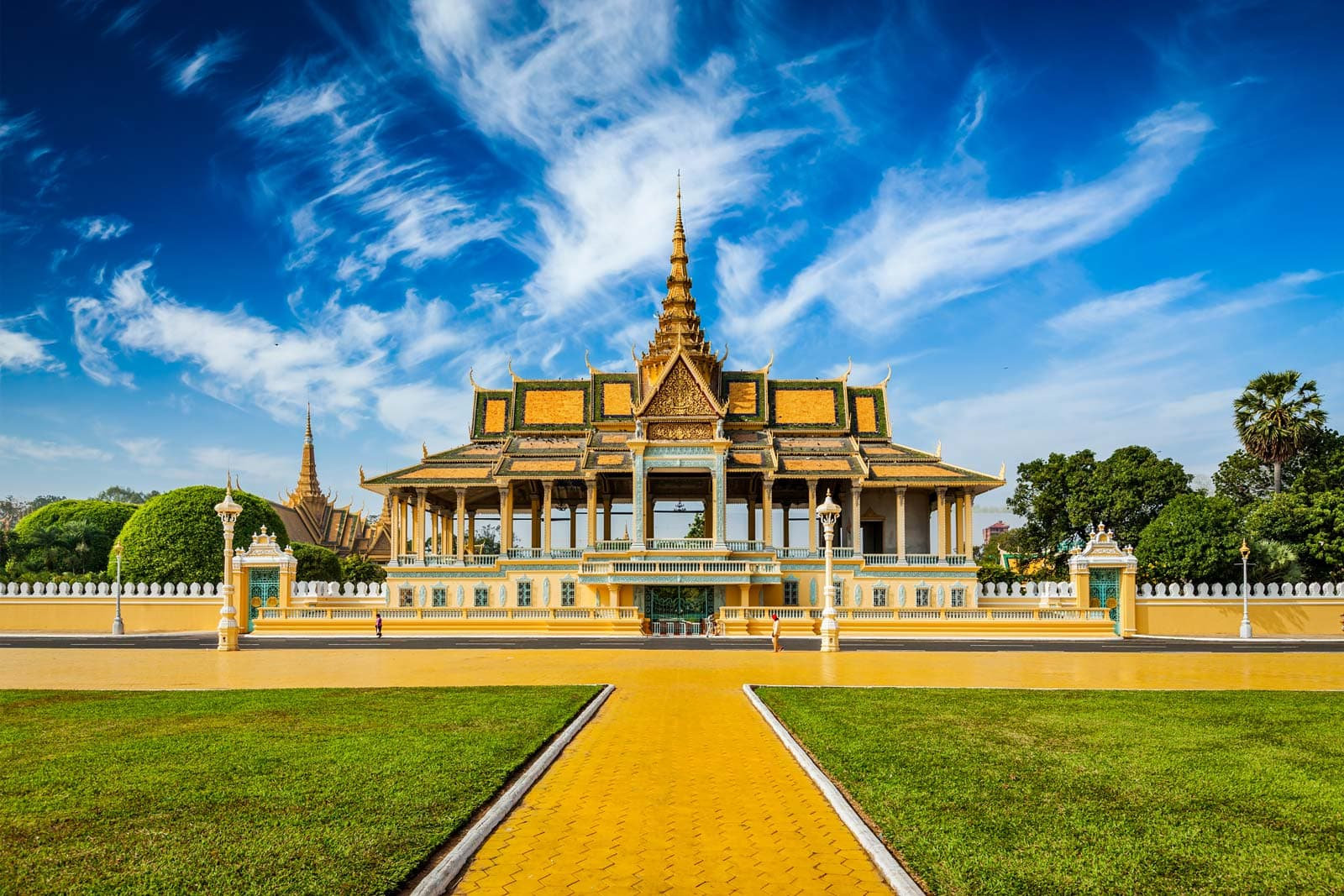 Royal Palace in Phnom Penh Kambodscha