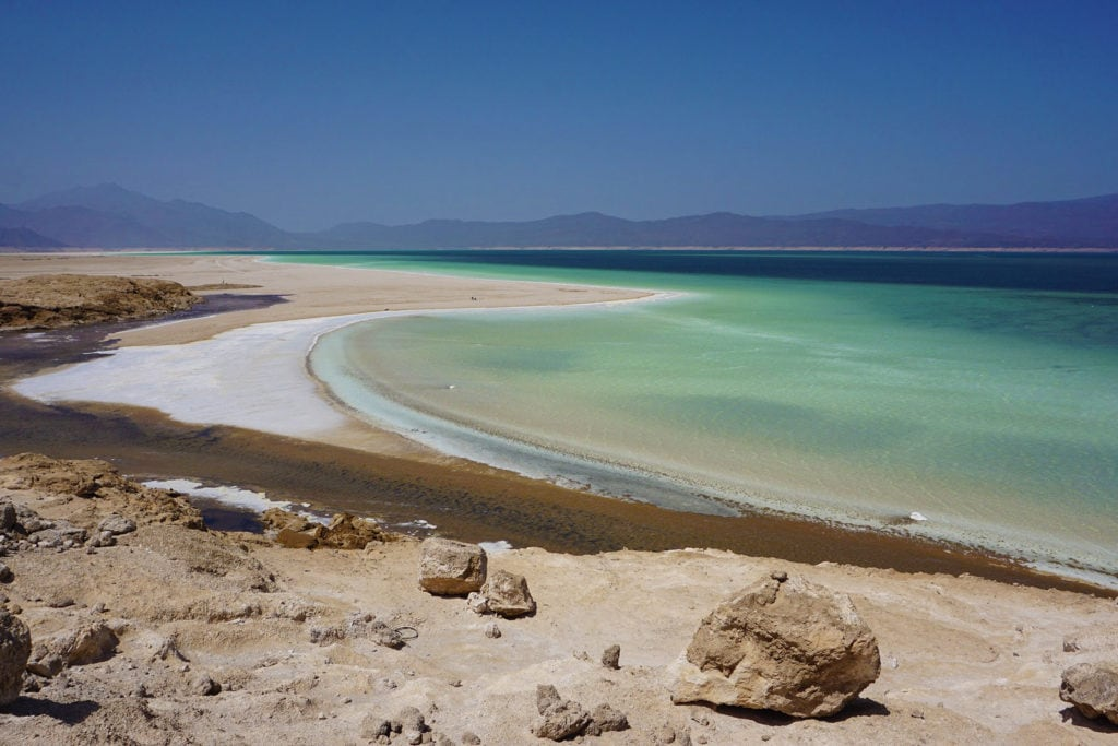 Salzbergwerk Abe See Dschibuti Ostafrika