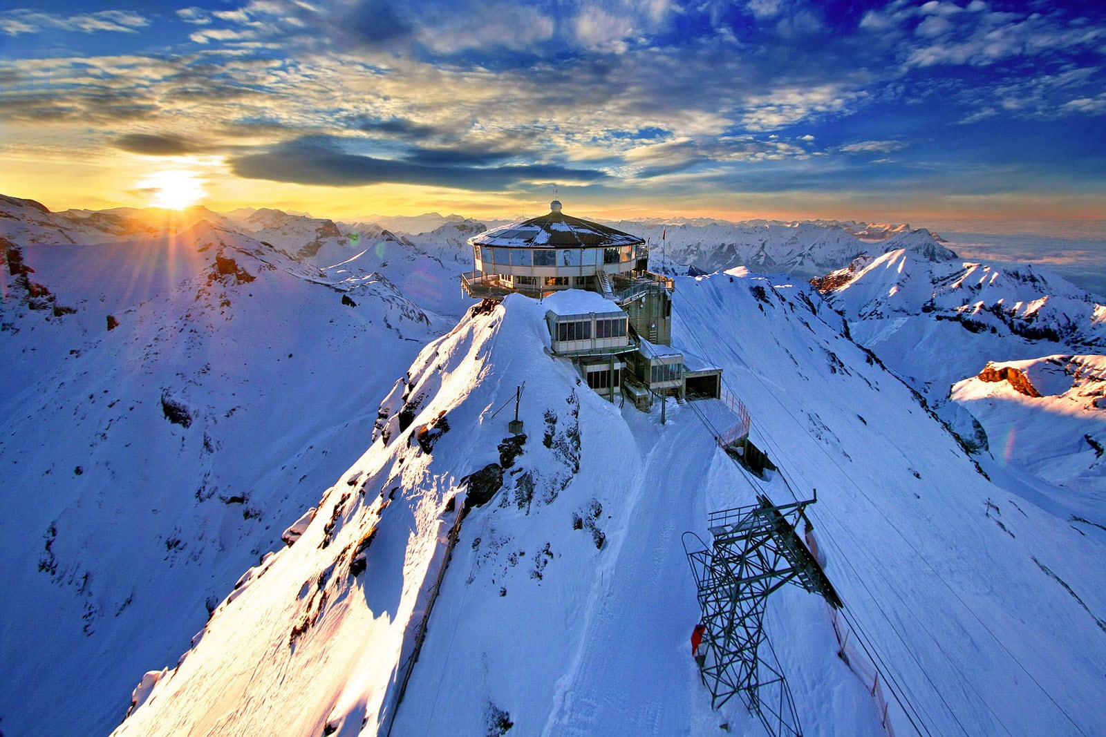 Schilthorn Alpen Schweiz