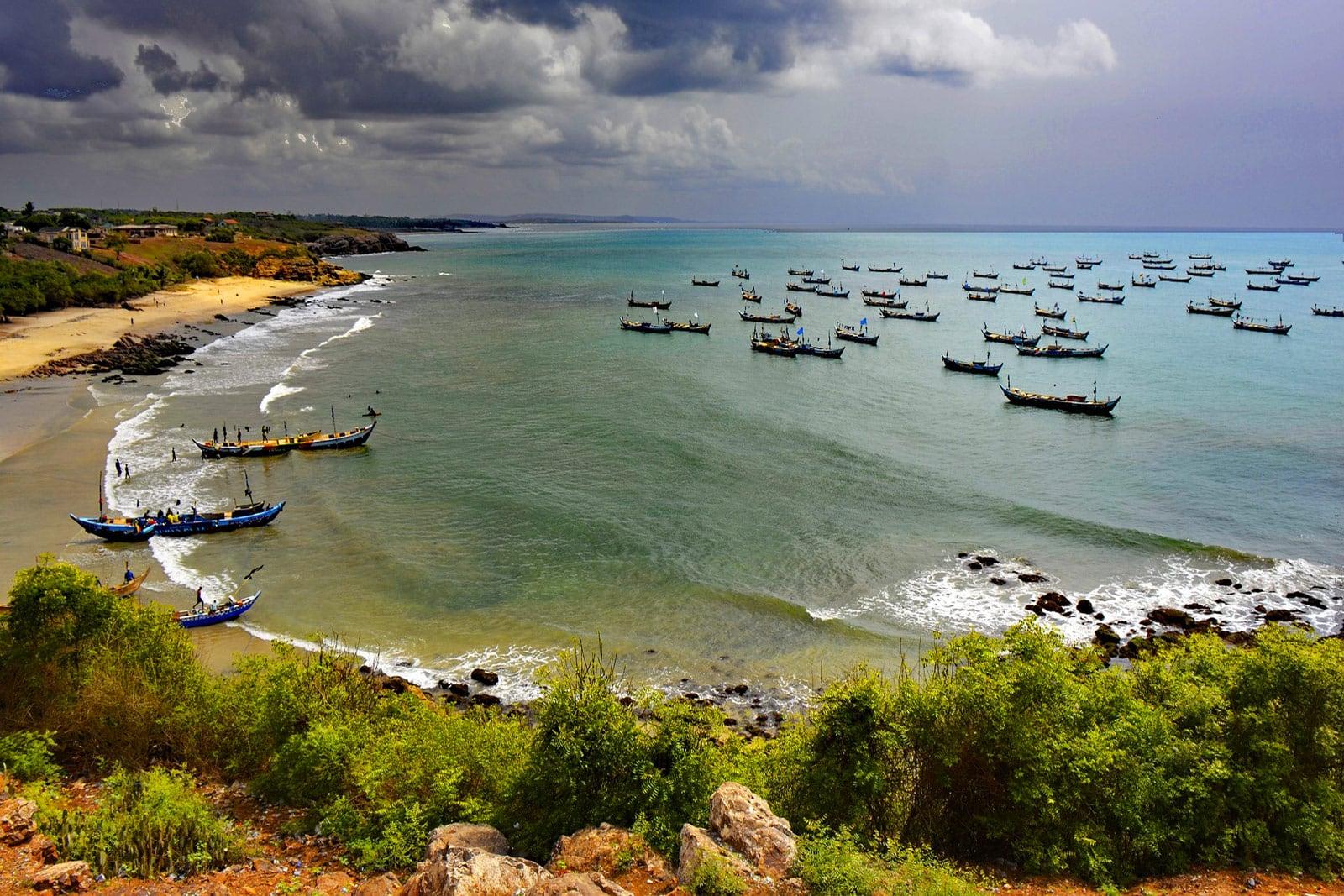 Senya Beraku Ghana Westafrika