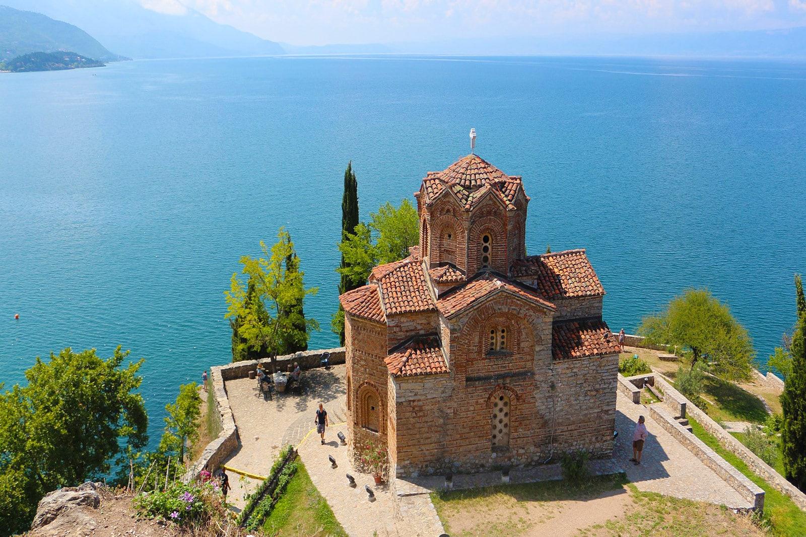 St John Kaneo Ohrid Mazedonien