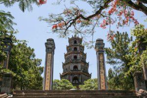 Thien Mu Pagoda Hue Central Vietnam