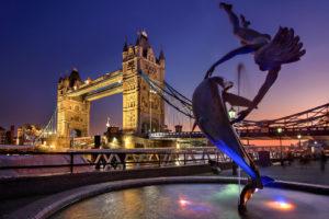 Tower Bridge London England Europa