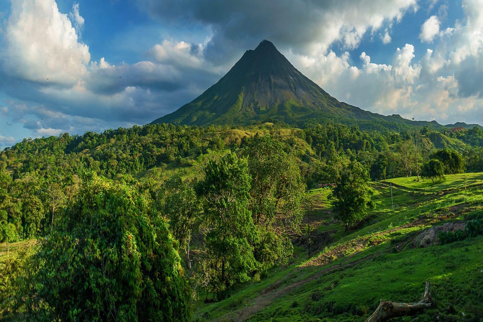 Vulkan Costa Rica Zentralamerika