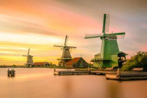 Windmuehlen Niederlande Holland Amsterdam
