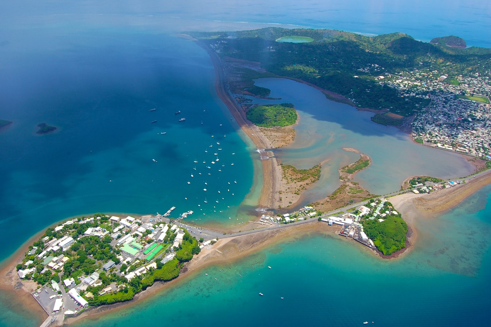 Mayotte Island Aerial Image East Africa