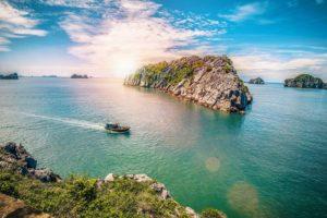 Ha Long Bay Halong South Vietnam