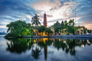 Tran Quoc Pagoda The Oldest Temple In Hanoi Vietnam